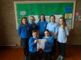 Bronze Award for St Columban's Eco Committee!
