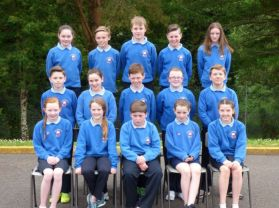 Farewell Primary 7 pupils.