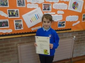 Presentation of Stars of the Week, Mathletics & Music certificates at Assembly