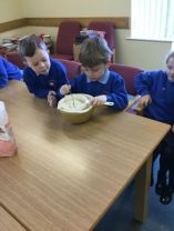 Making Pancakes in P1/2