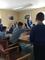 Hot chocolate making in Primary 6