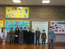 Primary 7 Halloween Assembly