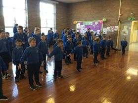Fitness Fridays in St Columban's!
